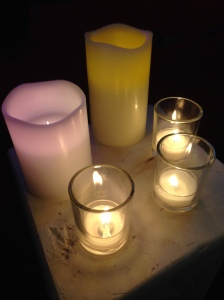 King of Love Vespers candles 5 7 15