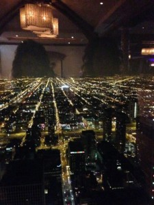 Chicago on New Year's Eve 2015
