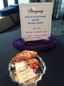 Stringsong Sales benefit Chicago Lights