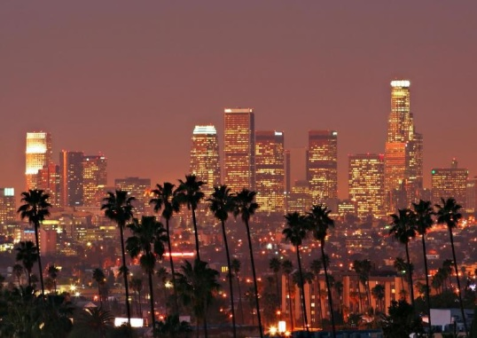 los-angeles-skyline-with-palm-trees